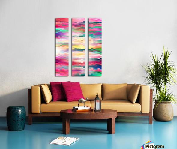Vivid Pattern XVI Split Canvas print