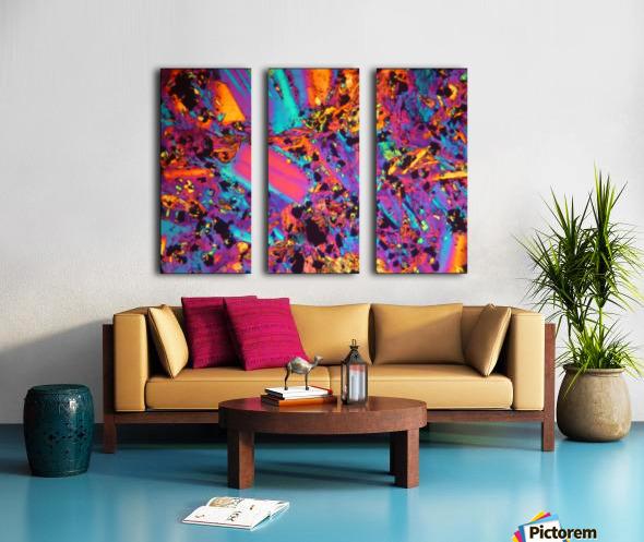Dynamite Split Canvas print