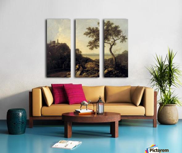 Hadrain's Villa Split Canvas print