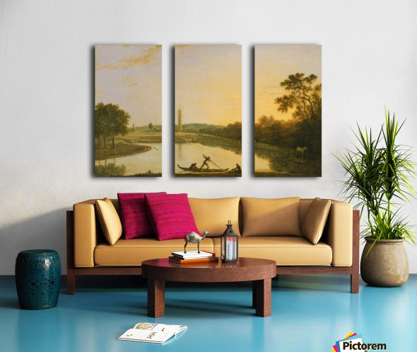 Kew Gardens Split Canvas print