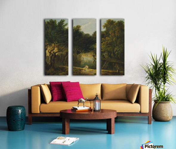 View of the Wilderness in St. James's Park Split Canvas print