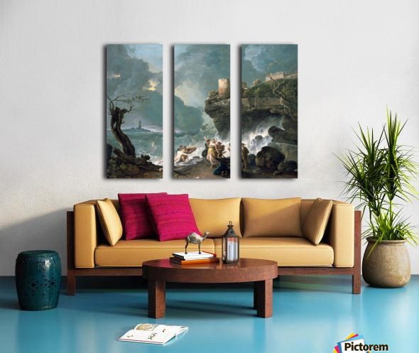 Ceyx and Alcyone Split Canvas print