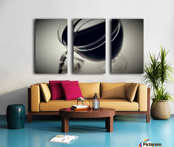 Wine Art 2 Split Canvas print