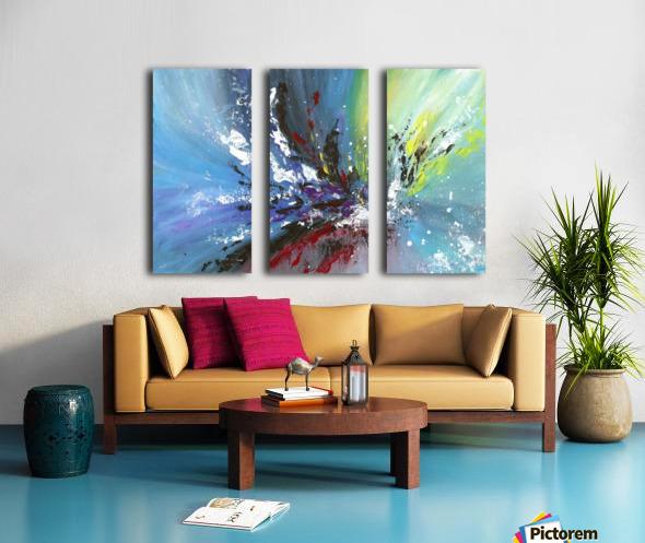 Abstract 165 Split Canvas print