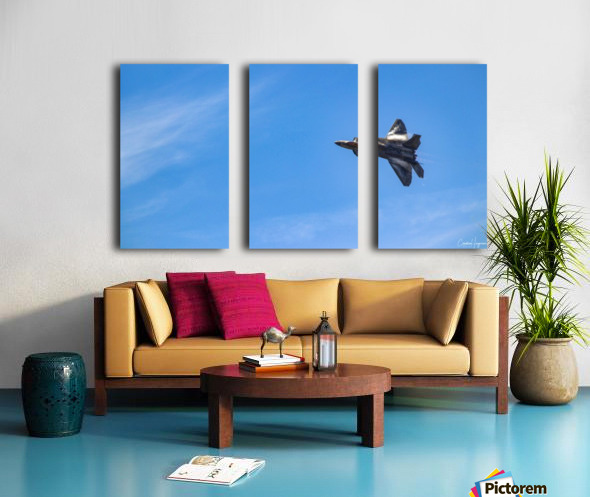 F22 raptor  Split Canvas print