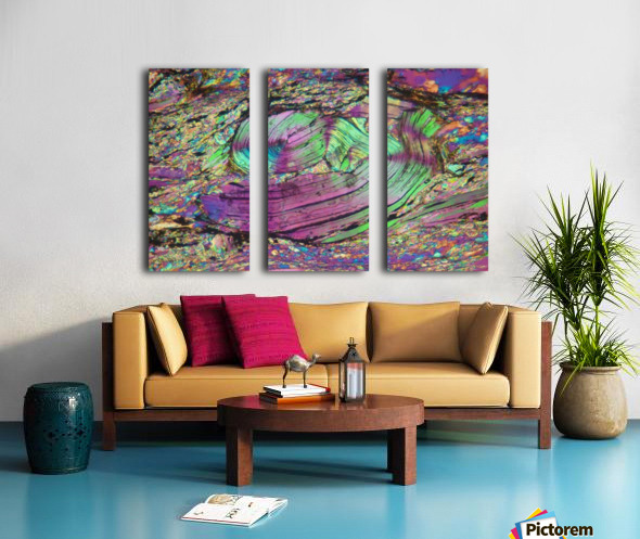 Twist Split Canvas print
