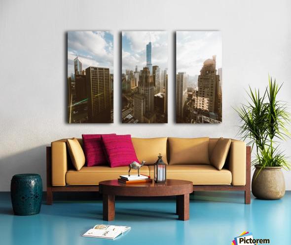 architectural design architecture buildings city Split Canvas print