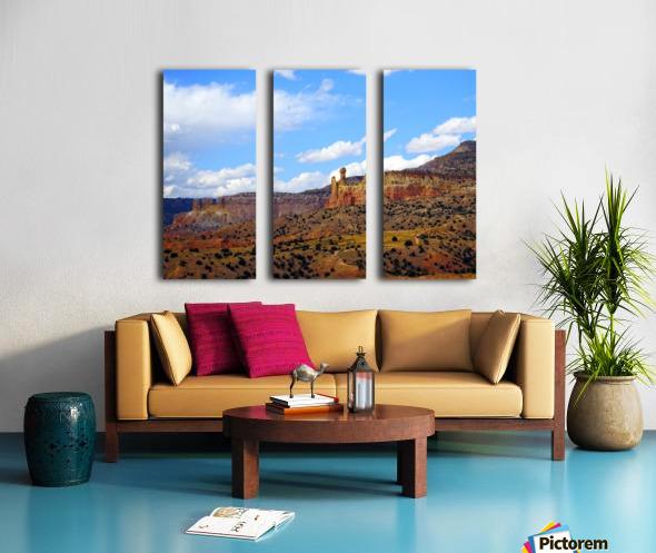 Chimney Rock Ghost Ranch NM  Split Canvas print