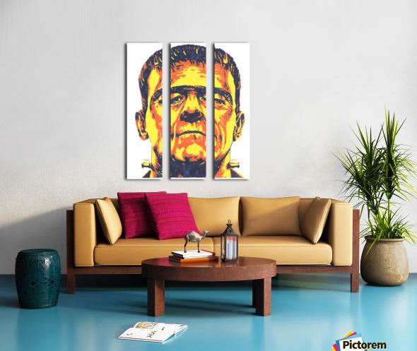 Frankenstein  Split Canvas print