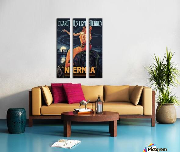 vintage poster print advertisement Split Canvas print