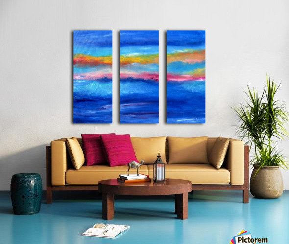 Floating Sky Split Canvas print