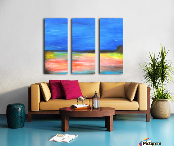 Colors of a Quiet Day Split Canvas print