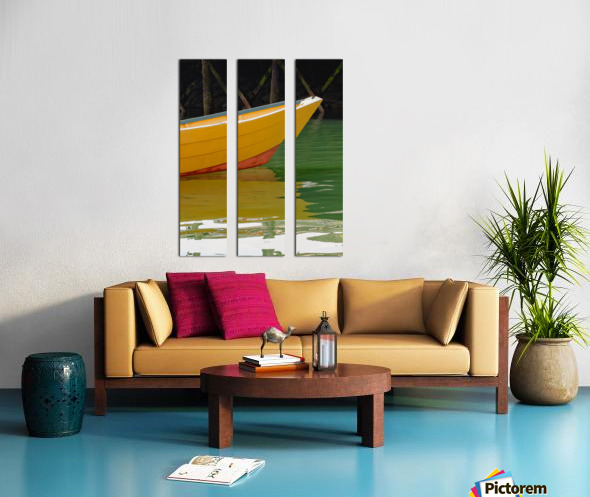 Reflect Split Canvas print