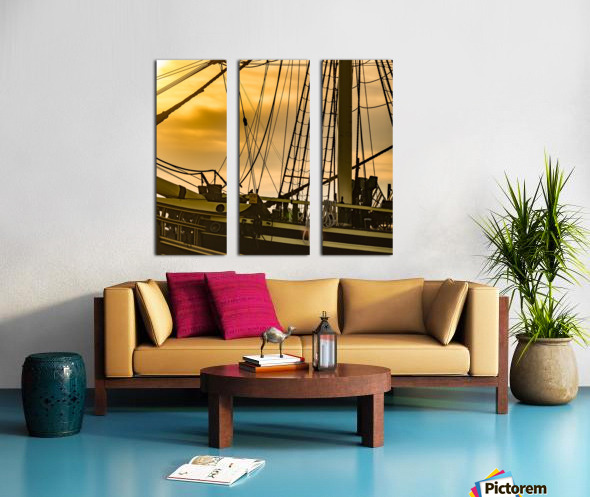 Friendship of Salem 8 Split Canvas print