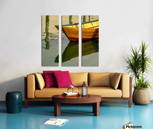 Goldie Split Canvas print