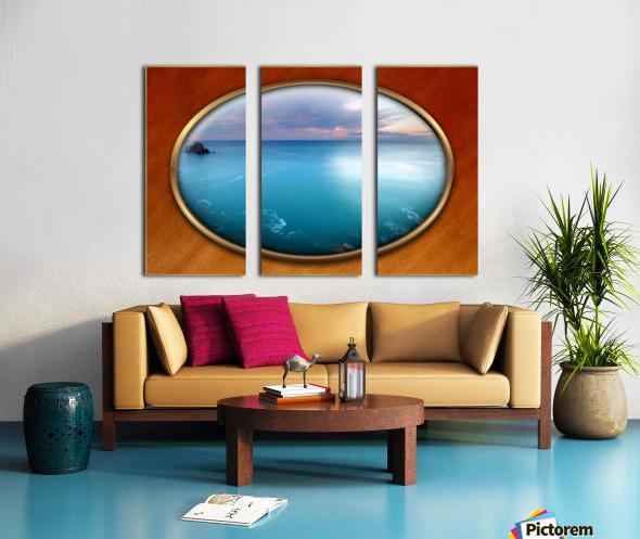 Landscape-10 Split Canvas print