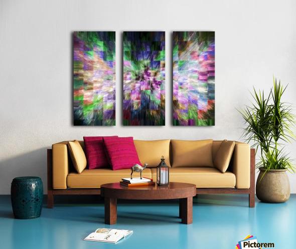A Brush of Angel Wings Split Canvas print
