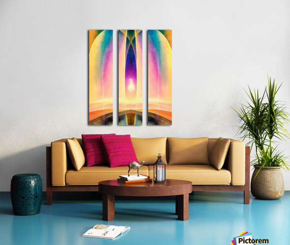 In the Hall of the Mountain King Split Canvas print