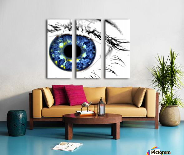 Eye Art 1 Split Canvas print