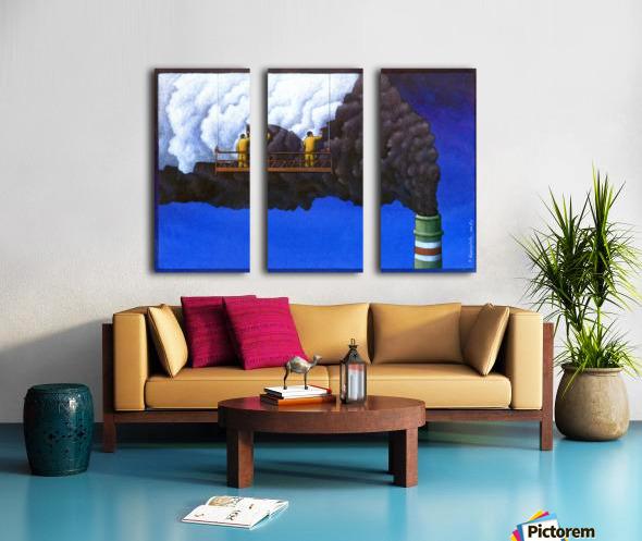 Pawel Kuczynski 21 Split Canvas print