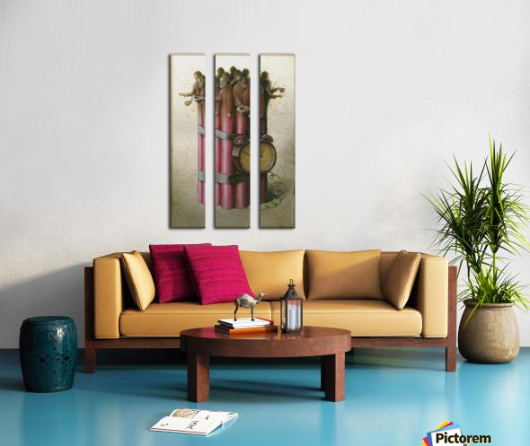Pawel Kuczynski 22 Split Canvas print