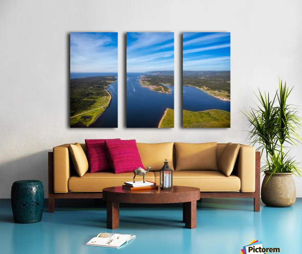 Cheticamp and Beyond Split Canvas print