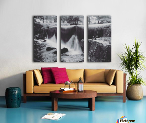 Hydrodam Split Canvas print