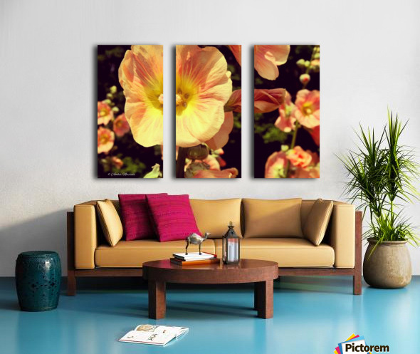 Mid Summer Blossom Split Canvas print