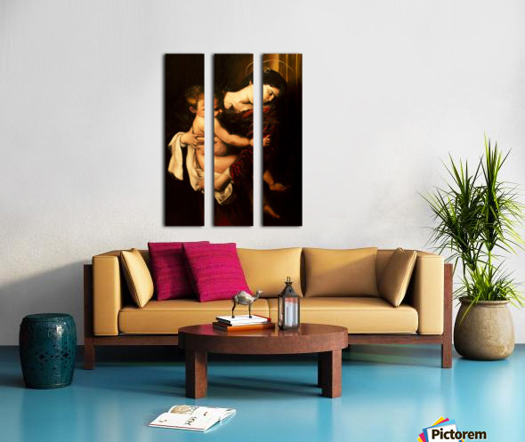Virgin Mary and Child Split Canvas print