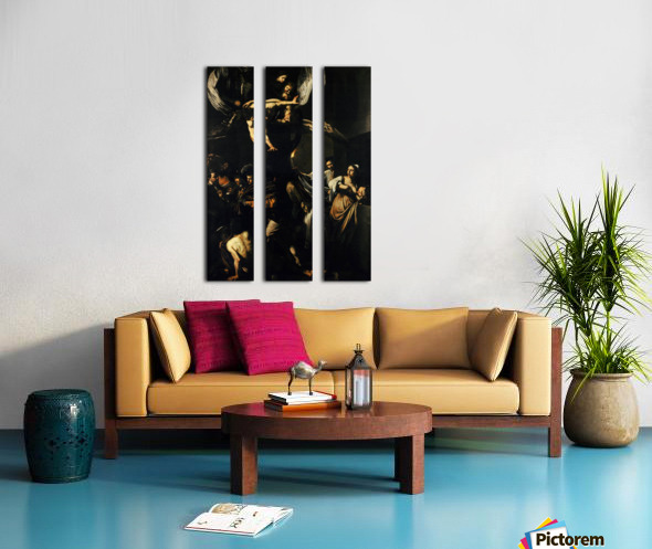 The Seven Works of Mercy Split Canvas print