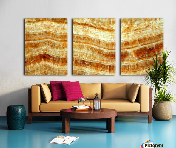 marble 2 Beautiful abstract illustration for interior decoration. Split Canvas print
