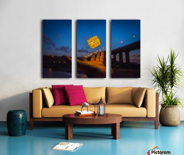 AZY_3203 Split Canvas print