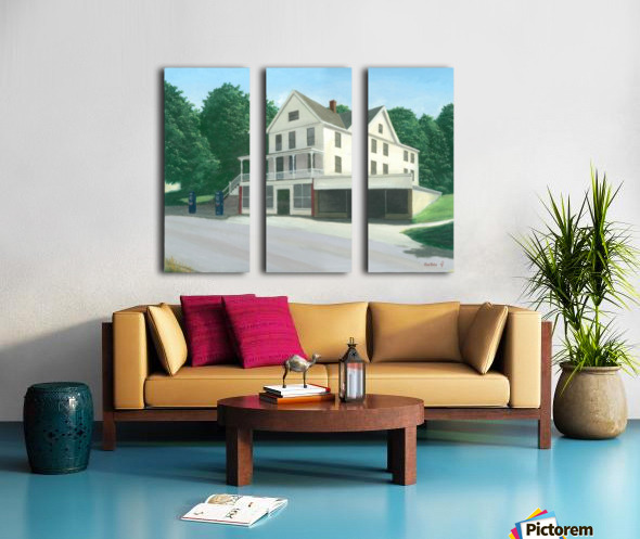 Botsford Store - Newtown Scenes  16X20 Split Canvas print