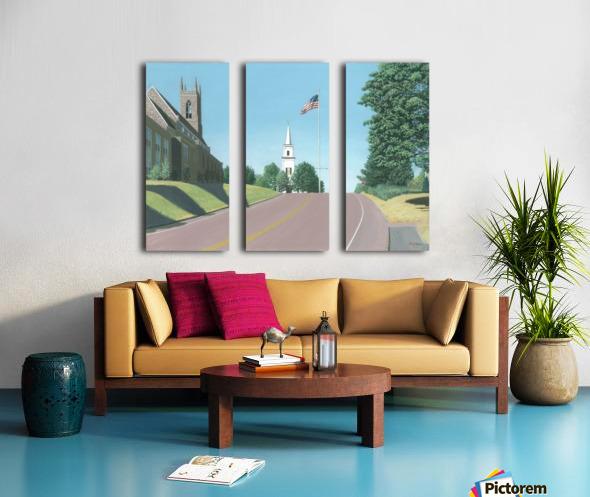 Church Hill Road - Newtown Scenes 12X16 Split Canvas print