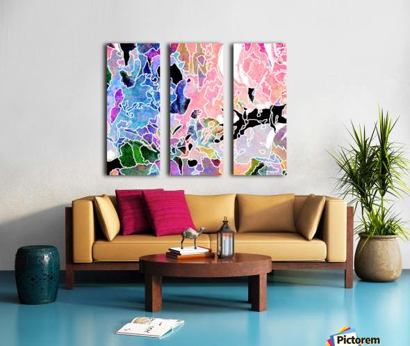 Spring Freeze Split Canvas print