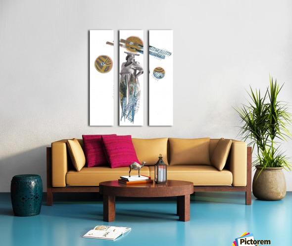 Herero Woman 5 Split Canvas print