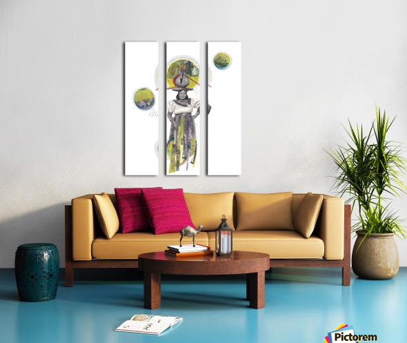 Herero Woman 4 Split Canvas print