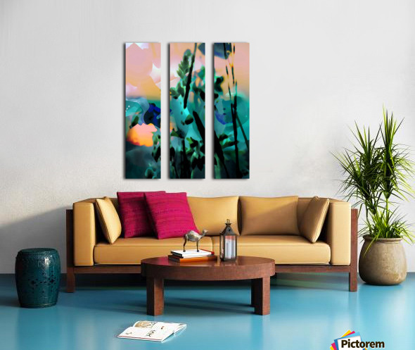 Natures Grace Split Canvas print