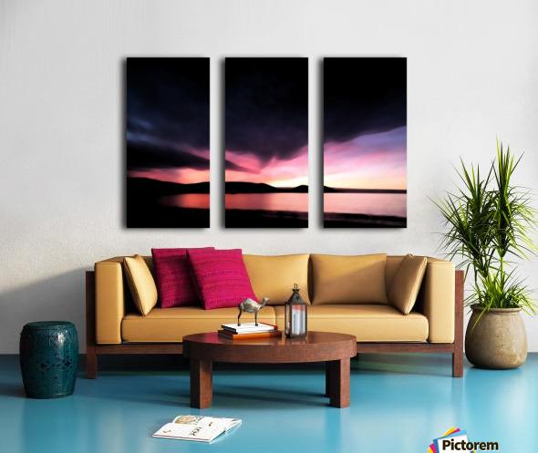 Last Light  Split Canvas print