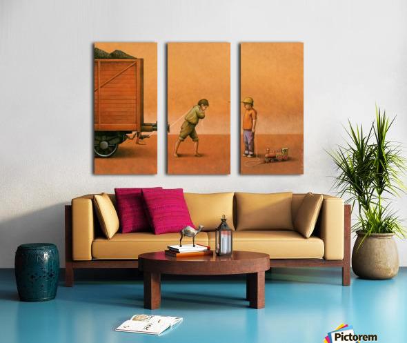 PawelKuczynski34 Split Canvas print