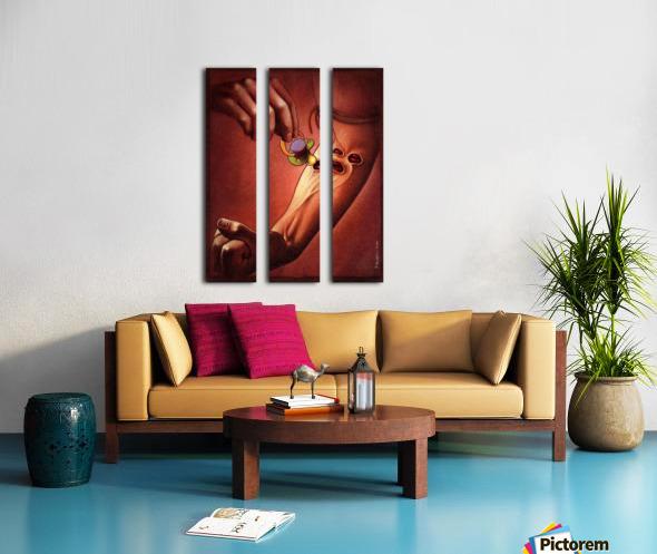 PawelKuczynski36 Split Canvas print