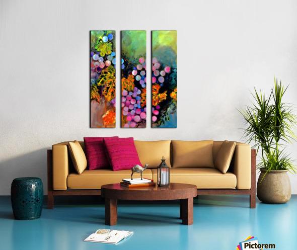 AO - The Grapes Split Canvas print