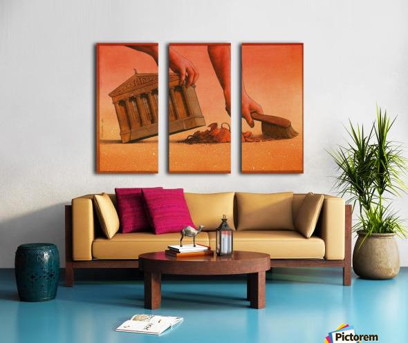 PawelKuczynski40 Split Canvas print