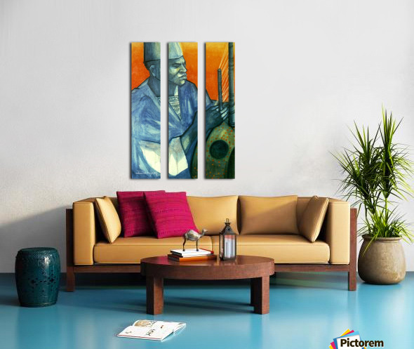 Griot Split Canvas print