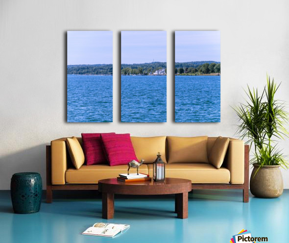 Skaneateles Lake 6 Split Canvas print