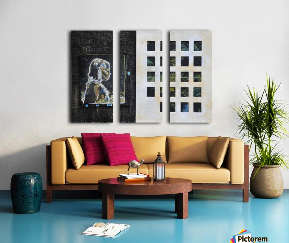 Wired life Toile Multi-Panneaux