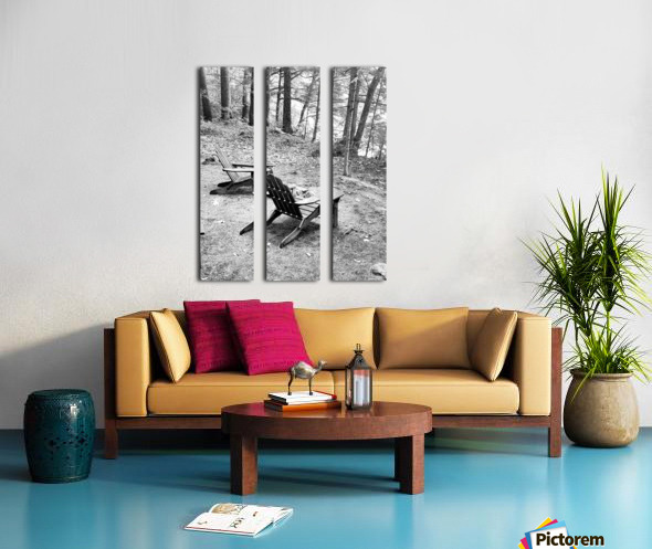 Relaxation spot  Split Canvas print