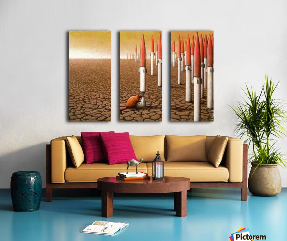 PawelKuczynski48 Split Canvas print