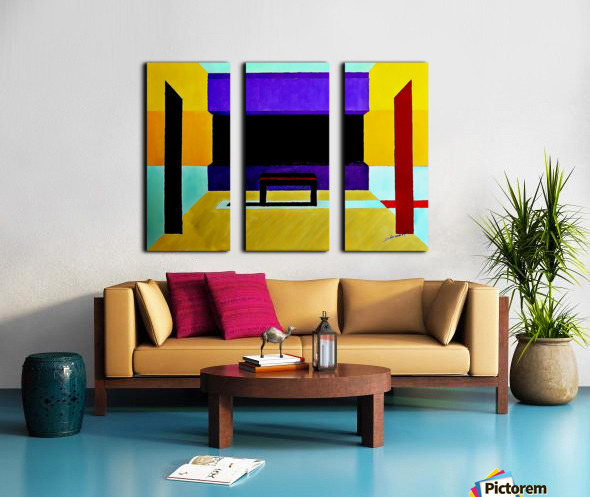 AS - The Hall Split Canvas print