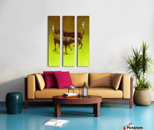 PawelKuczynski54 Split Canvas print